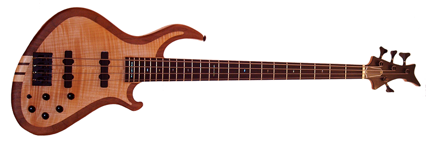 Clone Bass cutout